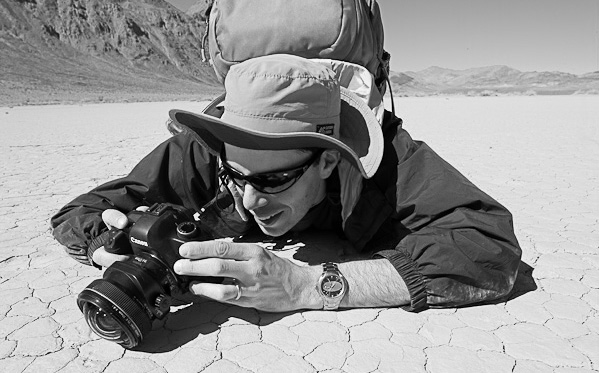 Neil Enns in Death Valley